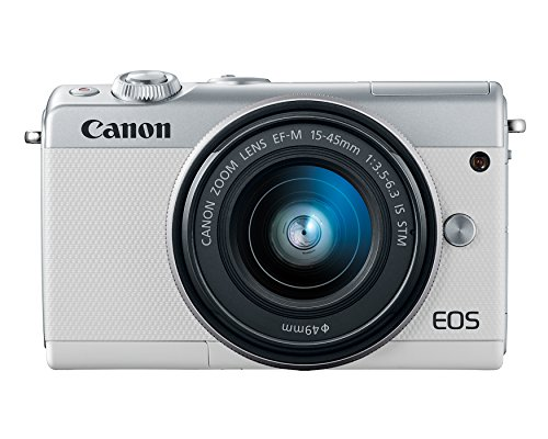Canon EOS M100 Mirrorless Camera w/ 15-45mm Lens – Wi-Fi, Bluetooth and NFC Enabled