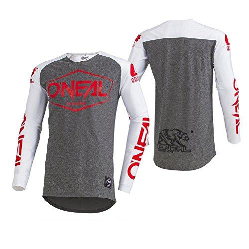 O'Neal Herren Motocross Jersey Mayhem Lite Hexx Ambush, Weiß, L, 003M -