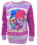 Girls Shimmer & Shine Festive Christmas Jumper Kids Sweatshirt