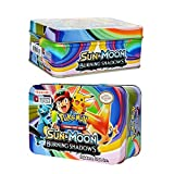 #1: KidsDelight® Pokemon 42 Cards in 1, Sun & Moon Burning Shadows Card Game with Metal Box Latest Collector's 2018 Edition with surprise 32 Basic/ Stage 1 & 2 Cards + 4 Energy Cards,+ 3 Trainer Cards+ 3 Rare GX Cards