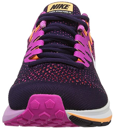 Nike Wmns Air Zoom Structure 20, Scarpe da Corsa Donna Viola (Purple Dynasty/Fire Pink/Peach Cream/White)