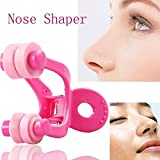 AGE CARE Fashion Nose Up Shaping Shaper Lifting Bridge Straightening Face Fitness Slimmer Facial Beauty Nose Clip.1pc(Pink)