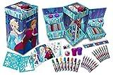 Disney Frozen Eiskönigin Art Cube Malkoffer Malset Stempel Set ❄