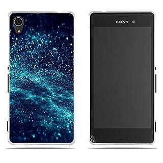 DIKAS Handyhülle Sony Xperia M4 Aqua (E2303 E2333 E2353), 3D Mode Muster Transparente Silikon Clear TPU Soft Gummi Silikon Abdeckung Telefon Fall für Sony Xperia M4 Aqua (E2303 E2333 E2353)- Pic: 04