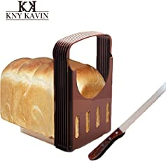 Shopo's Adjustable Bread Loaf Toast Thick Cutting Slicing Guide Kitchen Tool