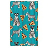 No Soy Como Tu Strandtücher Handtücher Schnauzers Dog Pizzas Premium Quality Beach Towels - Pool Towels (31 X 51 in)
