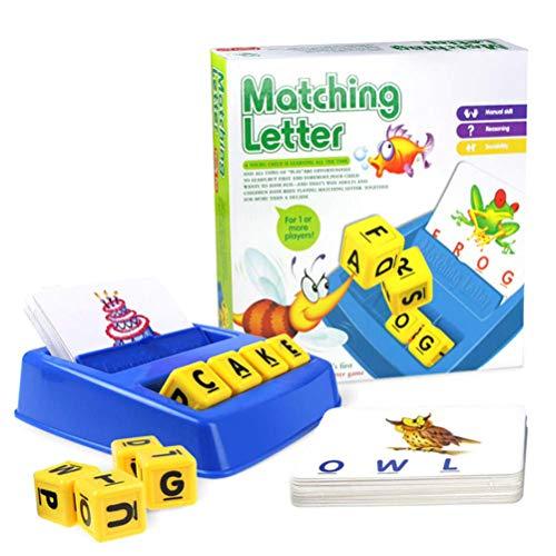 EisEyen Englisch Alphabet Kartenspielmaschine Spielzeug Buchstaben Spiel Früherziehung Lernspielzeug Kinder Sprachunterricht Bildung Spielzeug