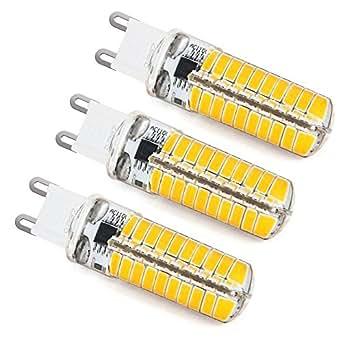zeefo g9 led lampen 3 pack dimmbare 5w 3000 3200k g9 led birnen lampen 420lm 5730 smd bi pin. Black Bedroom Furniture Sets. Home Design Ideas