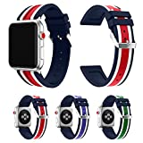 Sports Silicone Bracelet Strap Band For Apple Watch Bands Series 3/ 2 /1 38mm or 42mm