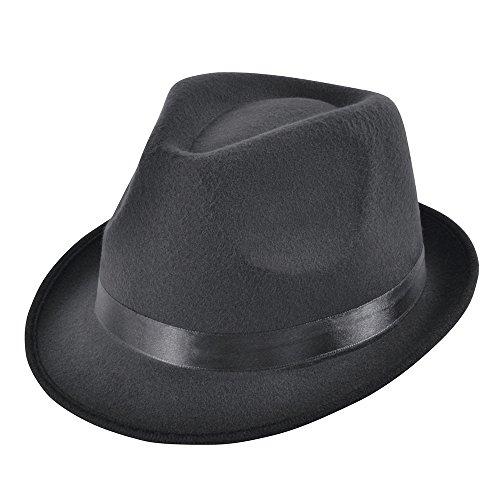 York Kostüm North - Bristol Novelty bh607Blues Style Deluxe Hat, schwarz, one size
