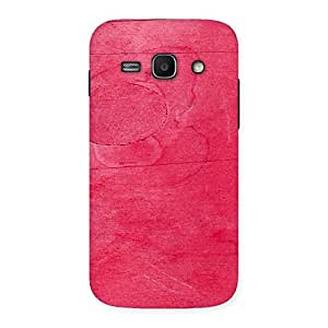 Cute Pink Wood Work Multicolor Back Case Cover for Galaxy Ace 3