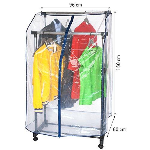 ArtMoon Anti Duster Weich Kleiderstange Abdeckung 96X60X150cm