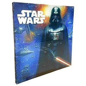Generique Tableau Canvas Star Wars 35x35 Cm Amazon Fr Cuisine Maison