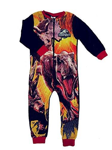 Gladrags tuta intera in pile personaggio per bambine all in one per neonato di pj pigiama taglia 18mesi 2345678910anni jurassic world 7-8 anni