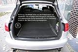 tuning-art 2904 Auto Kofferraummatte mit Rückbankschutz und Ladekantenschutz 3-teilig