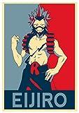 "Poster My Hero Academia ""Propaganda"" Eijiro - Formato A3 (42x30 cm)"