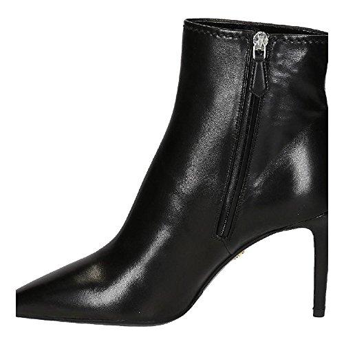 Bootines mi-mollet à talon Prada en cuir nappa noir - Code modèle: 1T892F 038 F0002 Noir