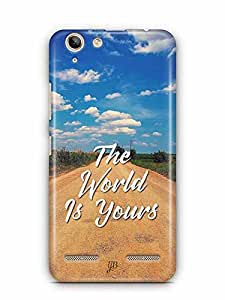 YuBingo The World is Yours Designer Mobile Case Back Cover for Lenovo Vibe K5 Plus