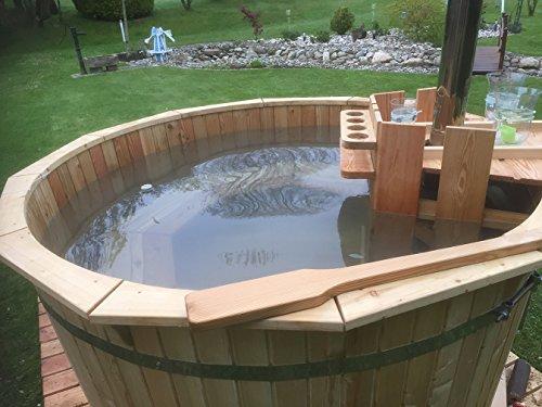 Vasca Da Bagno Per Giardino : Tinozza da bagno con riscaldamento vasca da bagno con stufa a