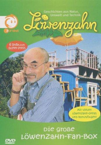 Die große Löwenzahn Fan-Box (6 DVDs + 6 Bonus-Folgen)