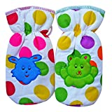 Littly Polka Dots Bottle Covers, Pack of...