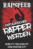 Erfolgreicher Rapper werden: Schritt f�r Schritt zum ersten Hit!: Lebe den Deutschraptraum, Rappen lernen; Verdiene Geld ab der ersten Sekunde mit Rap Bild