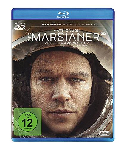 Bild von Der Marsianer - Rettet Mark Watney [3D Blu-ray]