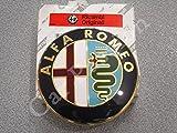 stemma logo ALFA ROMEO posteriore GIULIETTA 159 BRERA MITO FREGIO ORIGINALE 74mm