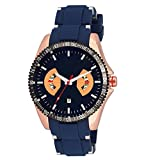 COSMIC ANALOG BLUE STRAP WATCH FOR MEN W...