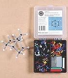 ORBIT Molekulbaukasten Chemie: Profi-Set in Sortierbox mit 460 Teilen und farbigem Booklet