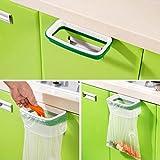#4: Cupboard Cabinet Door Hanging Garbage Trash Storage Rubbish Bag Rack Holder