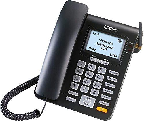 Maxcom - teléfono Fijo gsm Escritorio Tarjeta sim
