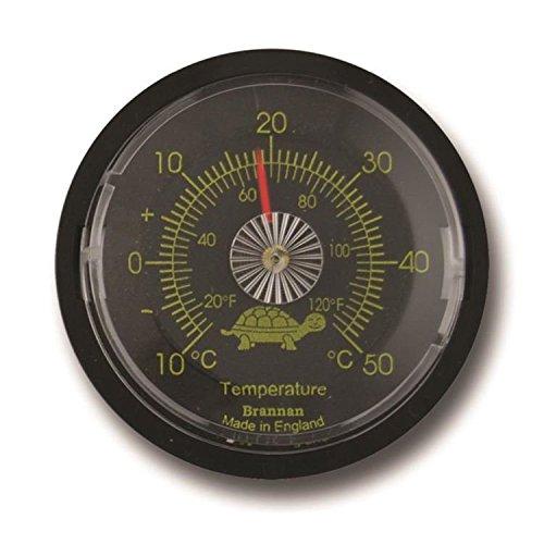 Brannan Terrarium/Reptile Tank Thermometer Vivarium Temperatur Gauge