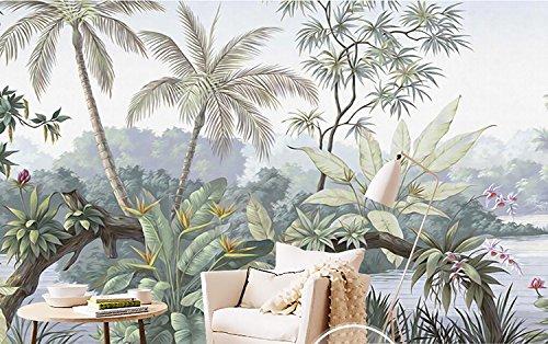 Huangyahui carta da parati la foresta pluviale tropicale wallpaper impianto stampa murales ktv hotel, il ristorante È il tema sfondo