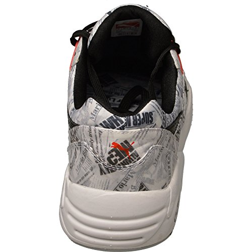 Puma R698 Trinomic NYC W.A.P. blackhighriskredwhitequarry | Herren-Sneaker | Special Edition NYC Black