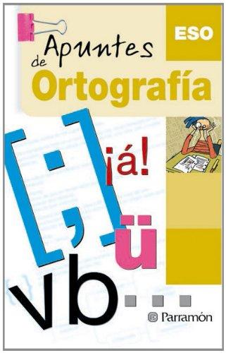 APUNTES DE ORTOGRAFIA por Elena Miñambre Berbel
