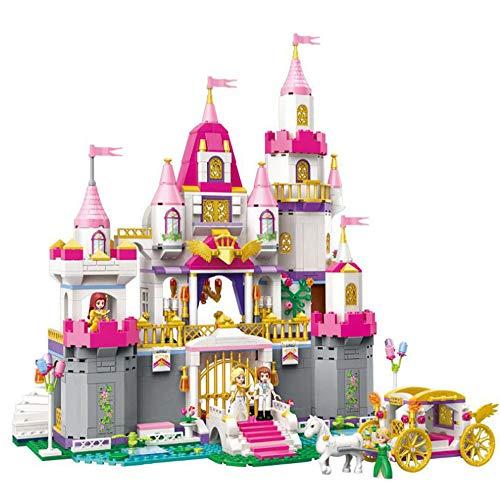 SSLW Mädchen Prinzessin Castle Montiert Puzzle Aufklärung Lego Toys,940Pieces