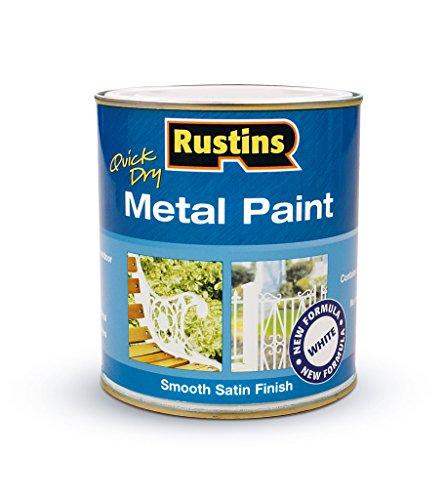 Rustins metal pintura blanca 250ml