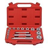 ACEHE 17 tlg Druckstück Druckstücksatz Einpress Werkzeug Presswerkzeug Lager einpressen Eintreibsatz Satz