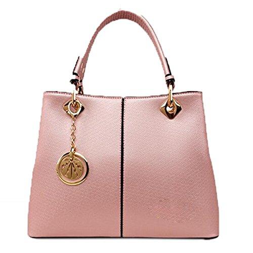 WU Zhi Onorevoli Portatile Spalla Messenger Bag Pink