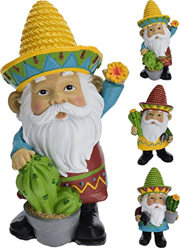 Marvin The Mexican Garden Gnome In 3 Designs