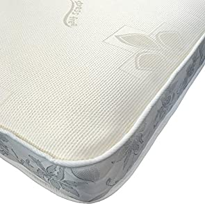 "eXtreme Comfort Ltd FBR1106 2FT6 Small Single Memory Sprung Mattress 6"" deep ideal for bunk beds"
