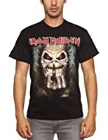 Loud Distribution Iron Maiden - Eddie Candle Finger Men's T-Shirt