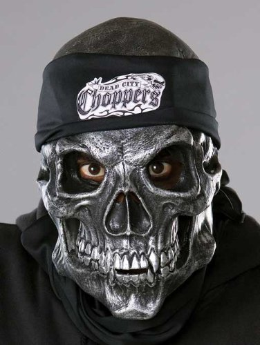 Metallic Maske Skull (Road Rage Skull Maske)