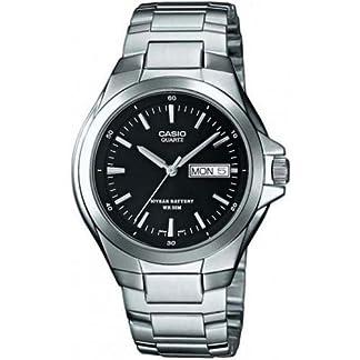 CASIO MTP1228D1AVEF – Reloj de caballero de cuarzo, correa de acero inoxidable color plata