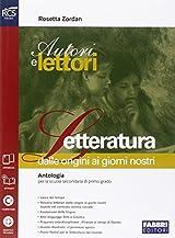 Autori e lettori. Quaderno-Letteratura. Con e-book. Con espansione online. Per la Scuola media: 2