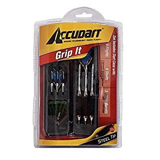 Accudart Grip-It Set - Steel Tips