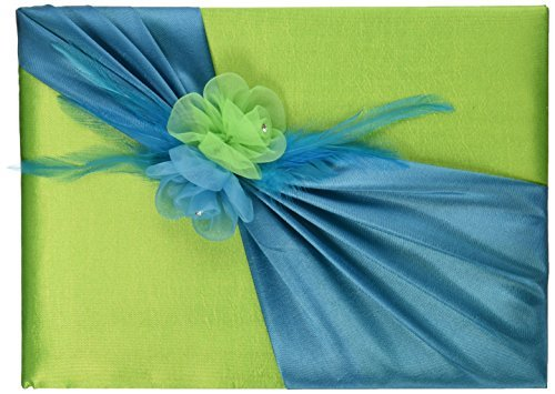 Lillian Rose Guest Book, 8.5-Inch, Blue and Green by Lillian Rose Lillian Green