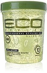 Idea Regalo - ECO Styler Olive Oil Styling Gel-Gel per capelli 946ML