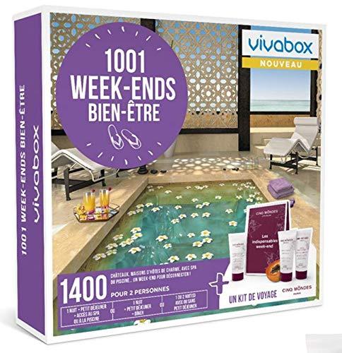 Vivabox - Coffret cadeau couple - 1001 WEEK-ENDS BIEN-ETRE - 1400 week-ends au choix...